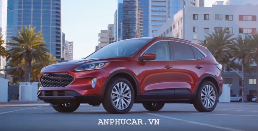 Ford Escape 2020 moi ve Viet Nam